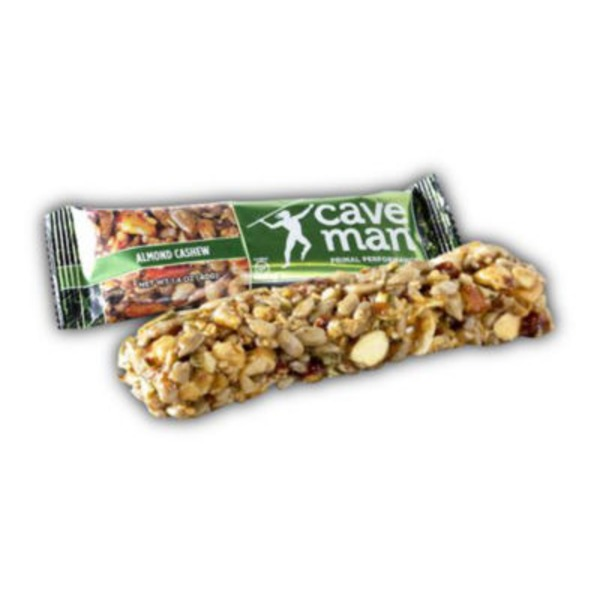 Caveman Almond Cashew Nut Bar