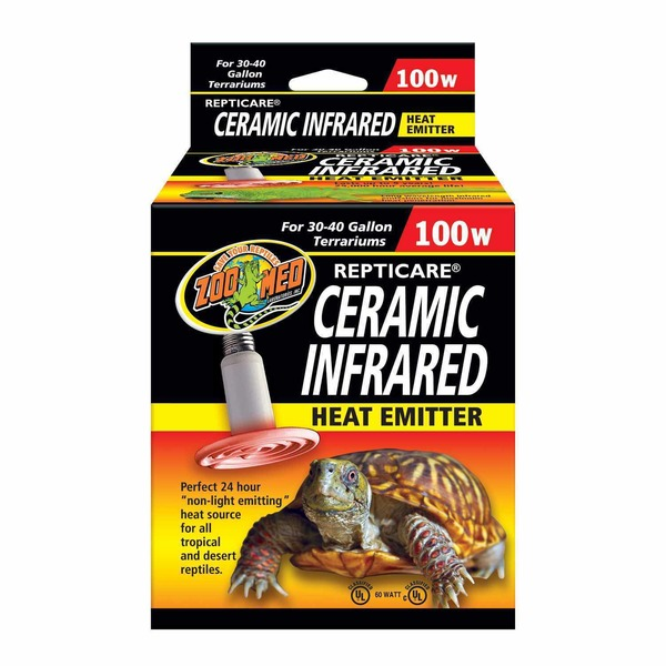 Zoo Med Repticare 100 Watt Ceramic Infrared Heat Emitter