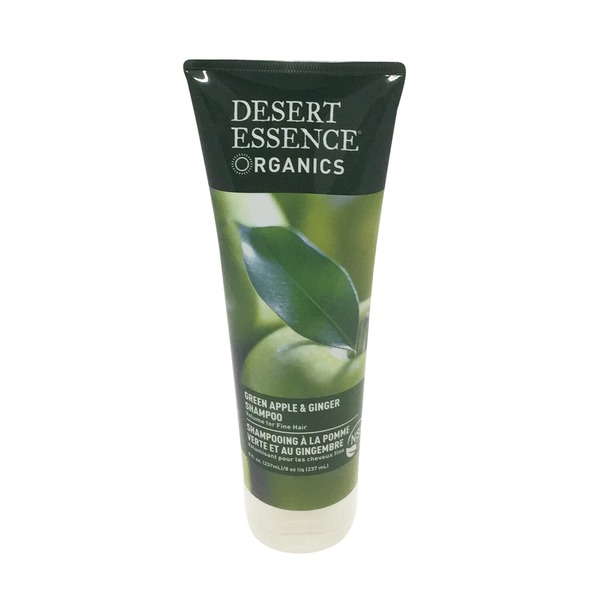 Desert Essence Organics Green Apple & Ginger Shampoo