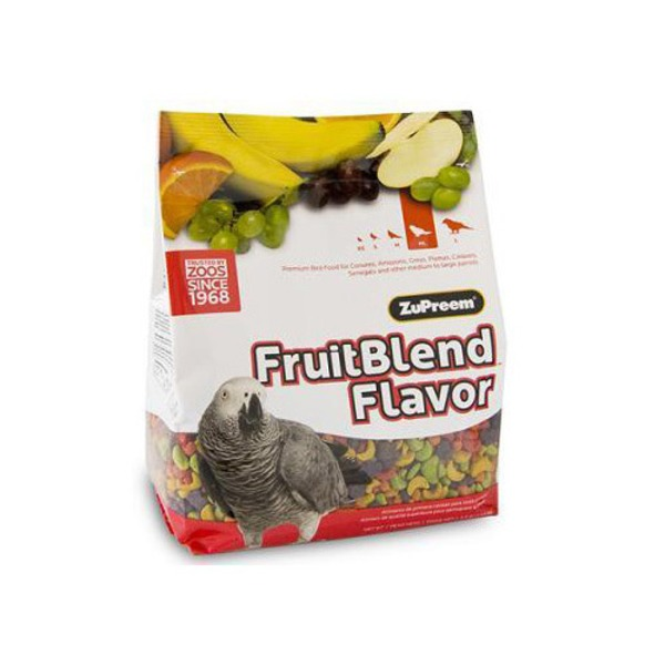 Zu Preem Avian Maintenance Fruit Blend Premium Bird Diet For Medium & Large Birds