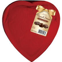 Russell Stover Wrapped In Red Cellophane Assorted Chocolates