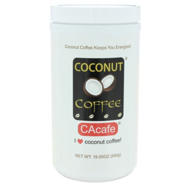CAcafe Coconut Coffee All Natural