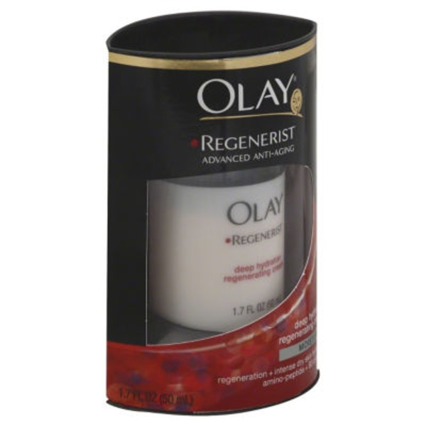 Olay Regenerist Olay Regenerist Deep Hydration Regenerating Cream Face Moisturizer 1.7 fl. oz. Female Skin Care