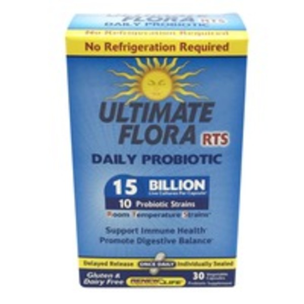 ReNew Life Ultimate Flora RTS Daily Probiotic 15 Billion