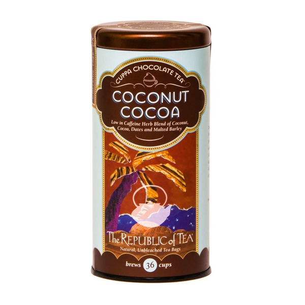 The Republic of Tea Coconut Cocoa Tea Bags