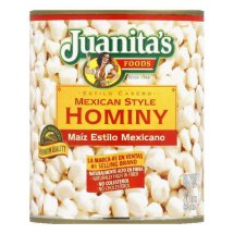 Juanita's Mexican Style Hominy, 29 oz