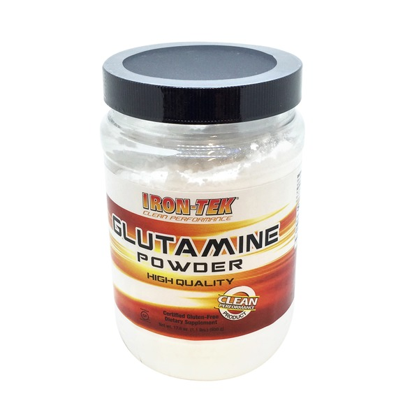 Iron-Tek High Quality Glutamine Powder