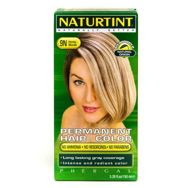 Naturtint Permanent Hair Color, Honey Blonde 9N