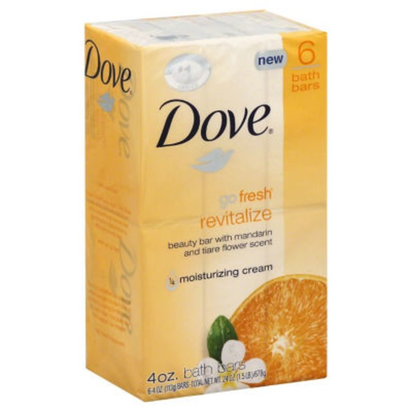 Dove Mandarin and Tiare Flower Beauty Bar