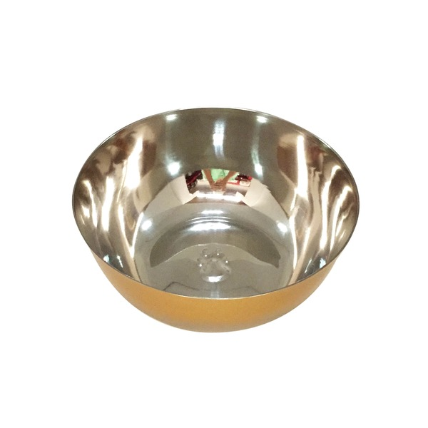 Harmony Gold Ombre Stainless Steel 6 Cup Dog Bowl