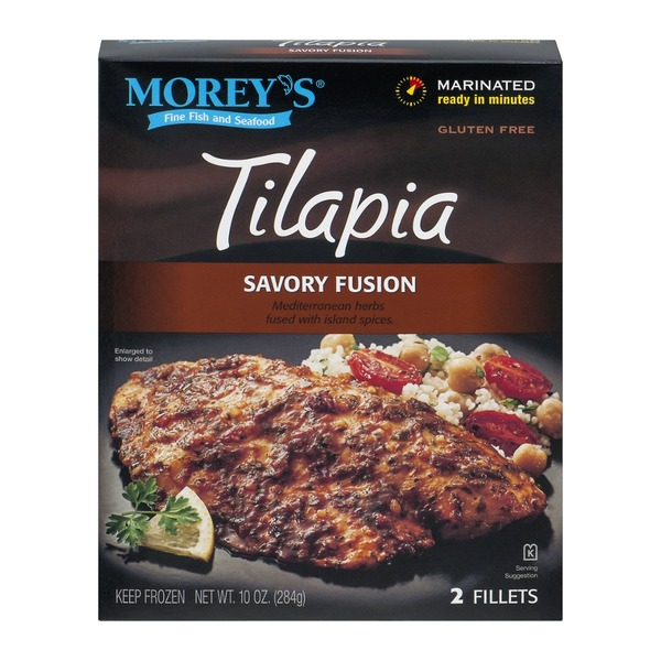 Morey's Tilapia Fillets Savory Fusion - 2 CT