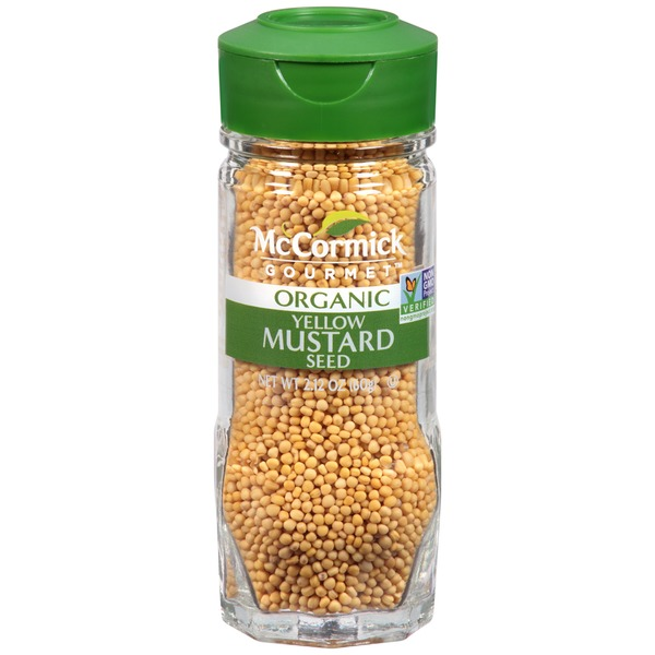McCormick Gourmet Collection Organic Yellow Mustard Seed