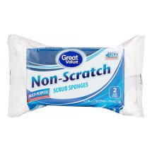 Great Value Non-Scratch Scrub Sponges 2ct