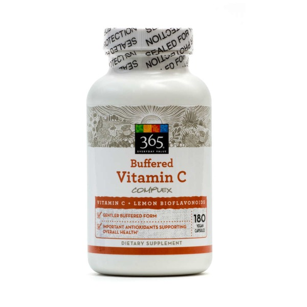 365 Buffered Vitamin C Complex Dietary Supplement