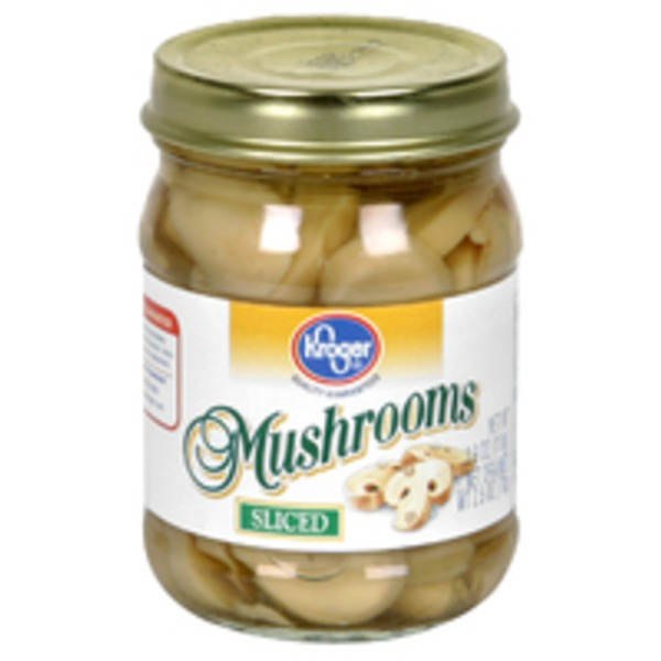 Kroger Sliced Mushrooms