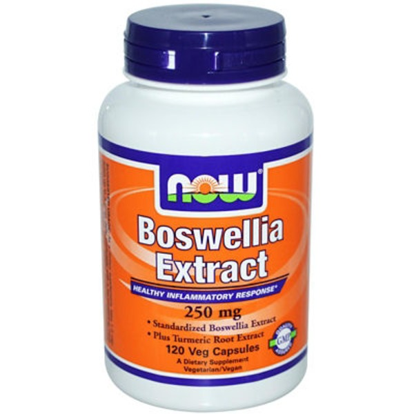 Now Boswellia Extract 250 Mg Veg Capsules