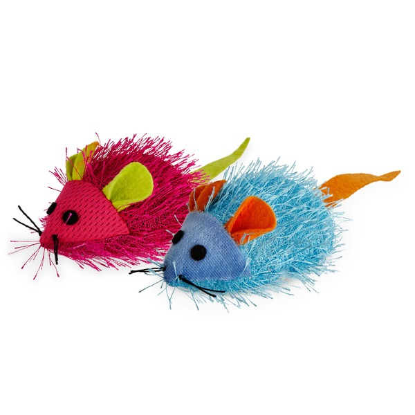 Leaps & Bounds Fuzzy Mice Cat Toy