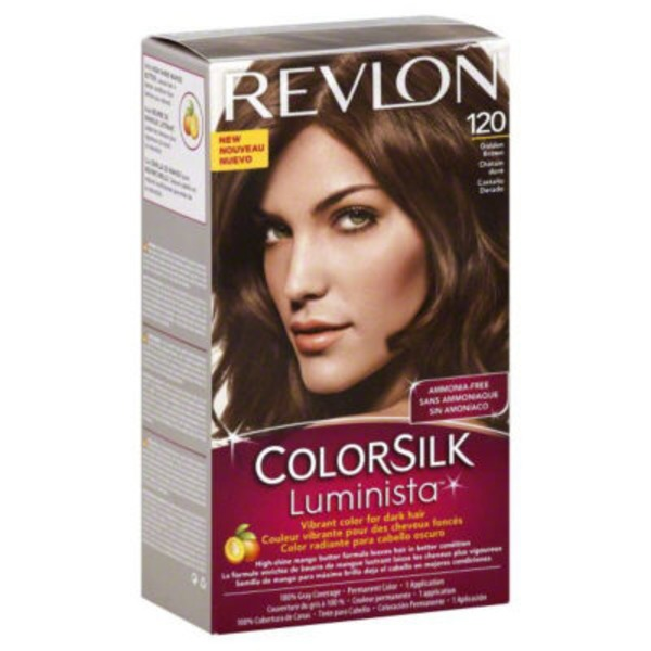 Revlon ColorSilk Luminista - Golden Brown