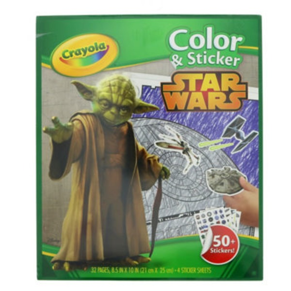 Crayola Color & Sticker Star Wars Book