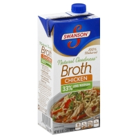 Swanson Broth Natural Goodness Aseptic Chicken
