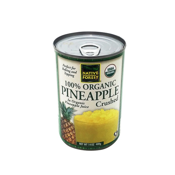 Native Forest Organic Pineapple Crushed
