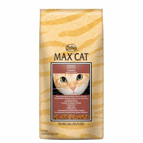 Nutro Max Cat Adult Real Salmon Protein Shiny Coat Cat Food