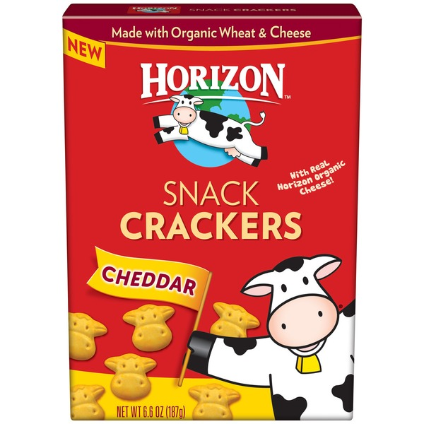 Horizon Cheddar Snack Crackers