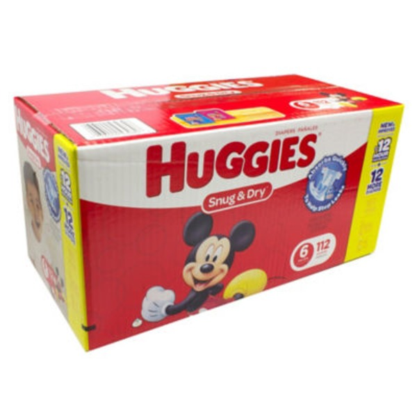 Huggies Snug & Dry Size 6  Diapers