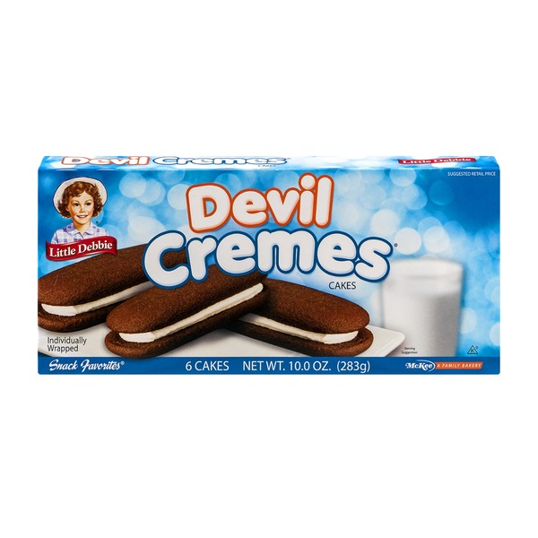 Little Debbie Devil Cremes - 6 CT