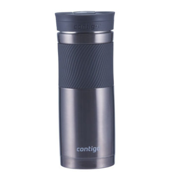 Contigo SnapSeal Vacuum-Insulated Stainless Steel Travel Mug. 20 oz  Gunmetal