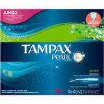 Tampax Pearl Tampons Super Unscented