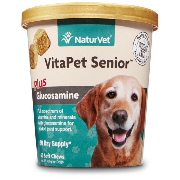 NaturVet Vita Pet Senior Glucosamine Soft Chews