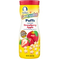 Gerber Graduates Puffs Strawberry Apple Puffs Cereal Snack