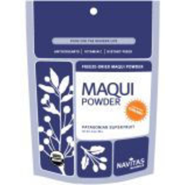 Navitas Maqui Powder, Organic Freeze Dried, Patagonian Superfruit