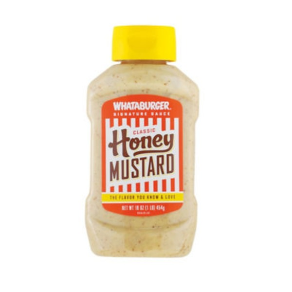 Whataburger Classic Honey Mustard Signature Sauce