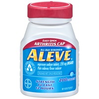 Aleve Arthritis Cap Naproxen Sodium 220mg Tablets Pain Reliever/Fever Reducer