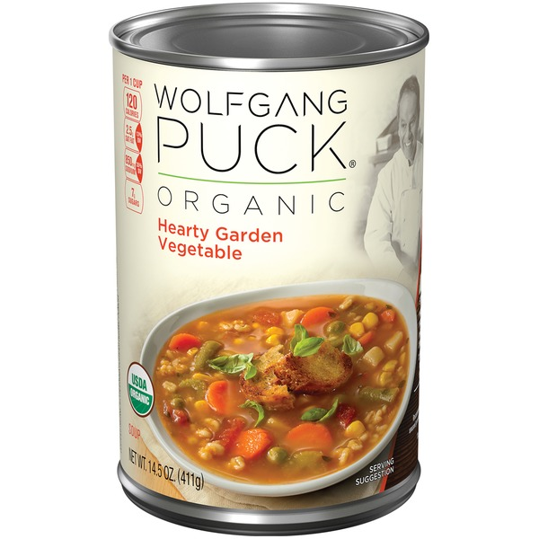 Wolfgang Puck Hearty Garden Vegetable Organic Soup