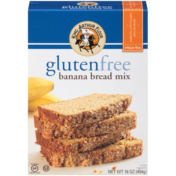 King Arthur Flour Gluten Free Banana Bread Mix