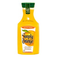 Simply Beverages Original Pulp Free Orange Juice