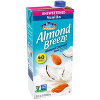 Blue Diamond Almond Breeze Unsweetened Vanilla Almond Coconut Almondmilk/Coconutmilk Blend