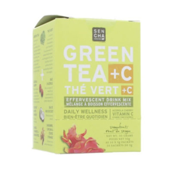 Sencha Naturals Green Tea + C Dragonfruit Pack