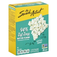 The Snack Artist Popcorn Microwave Butter 94% Fat Free - 3
