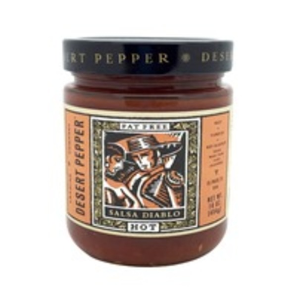Desert Pepper Salsa, Diablo, Hot