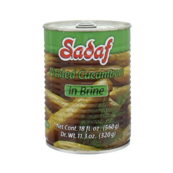 Sadaf Pickled Cucumbers In Brine