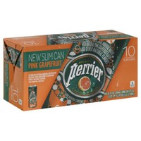 Perrier SLIM CANS PINK GRAPEFRUIT Sparkling Natural Mineral Water