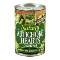 Native Forest Artichoke Hearts Quartered