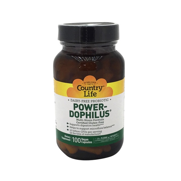 Country Life Power Dophilus v-capsules
