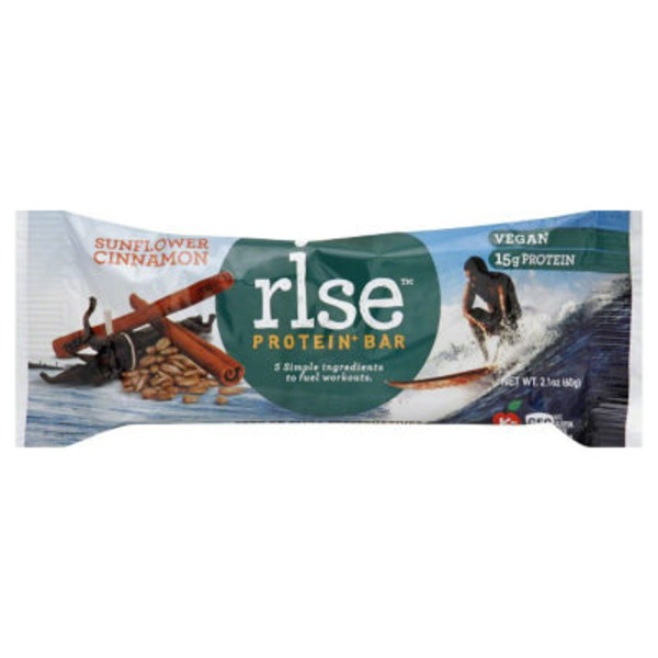 Rise Sunflower Cinnamon Protein Bar