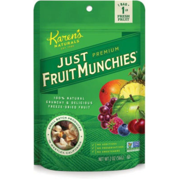 Karen's Naturals Just Fruit Munchies