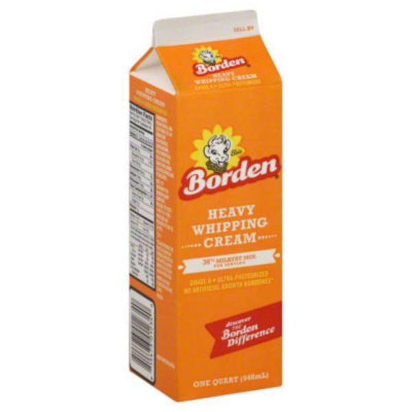 Borden Heavy Whipping Cream